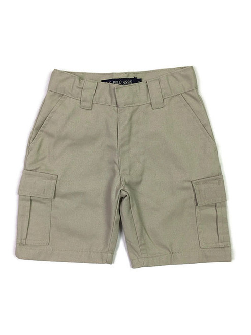 Khaki Cargo Shorts, Toddler Boys