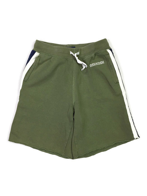 Green Pull-On Shorts, Little Boys