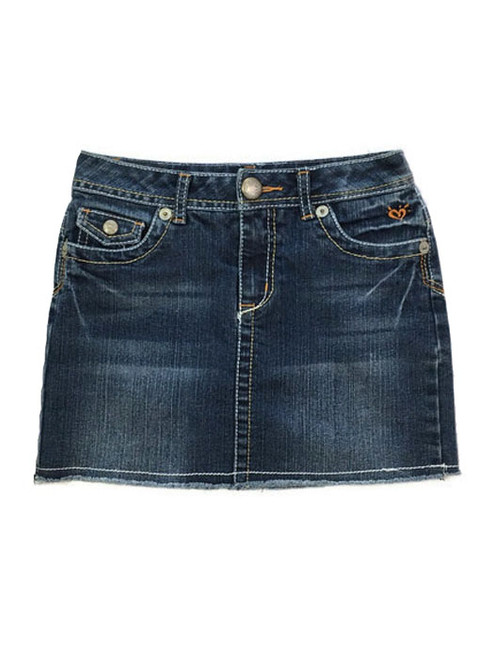 Denim Skort, Big Girls
