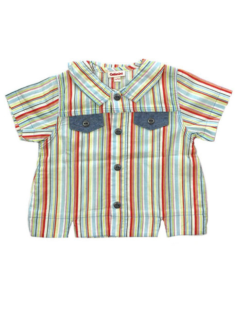 Multi-Color Striped Shirt, Baby Boys
