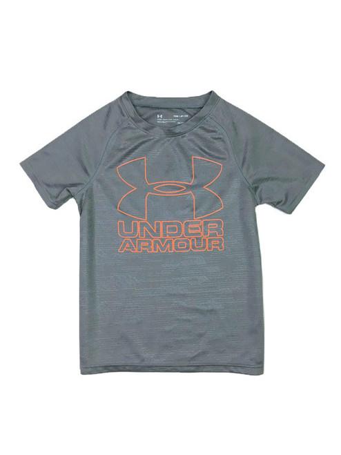 Gray Heat Gear Shirt, Little Boys