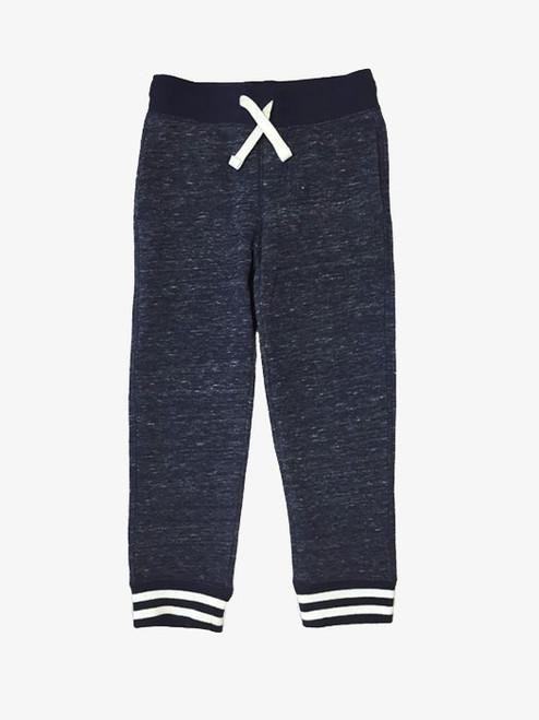 Navy Blue Jogger Pants, Little Boys
