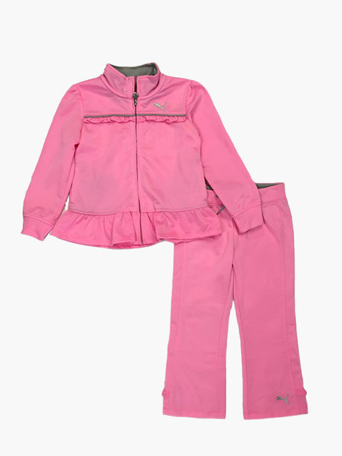 Pink Tracksuit Set, Toddler Girls