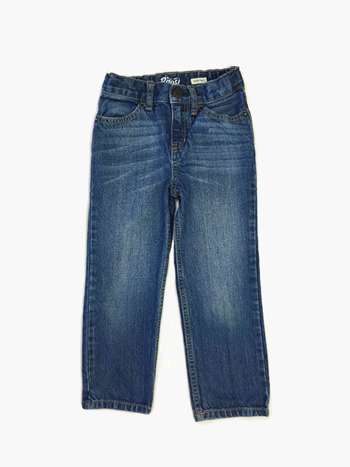 Straight Fit Denim Jeans, Toddler Boys