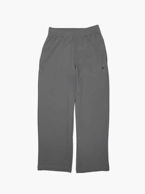 Gray Go-Dry Mesh Track Pants, Big Boys