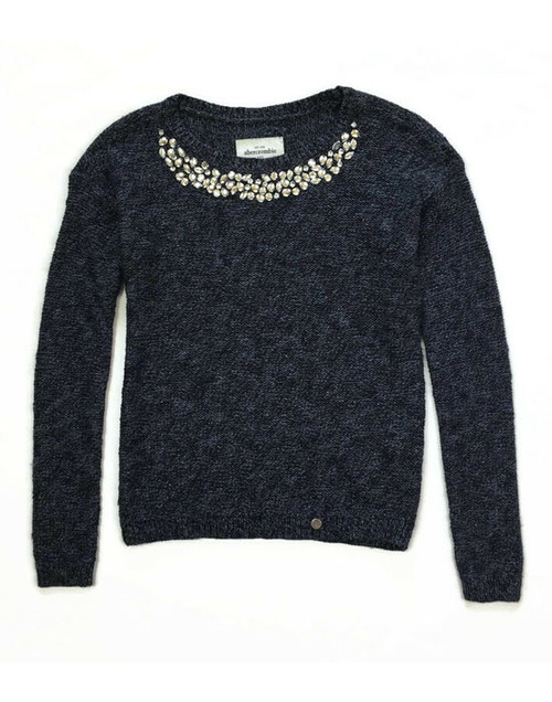 Soft Sparkly Pullover Sweater, Big Girls
