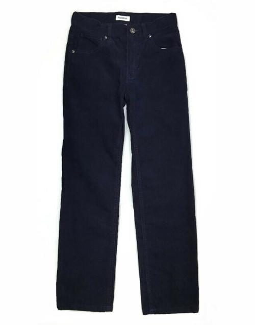 Navy Blue Corduroy Pants, Big Boys
