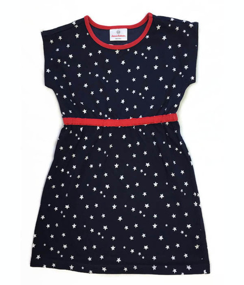Red White & Blue Stars Dress, Little Girls