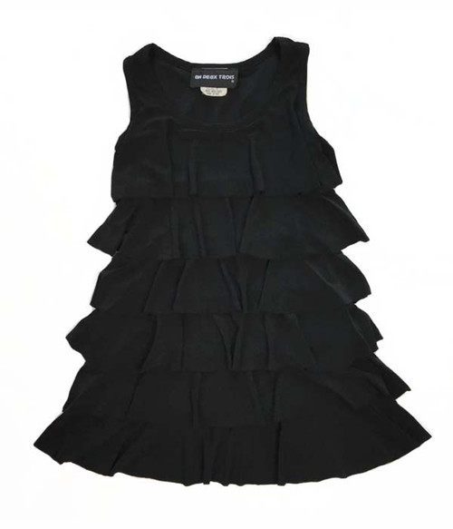 Black Tier Dress, Little Girls