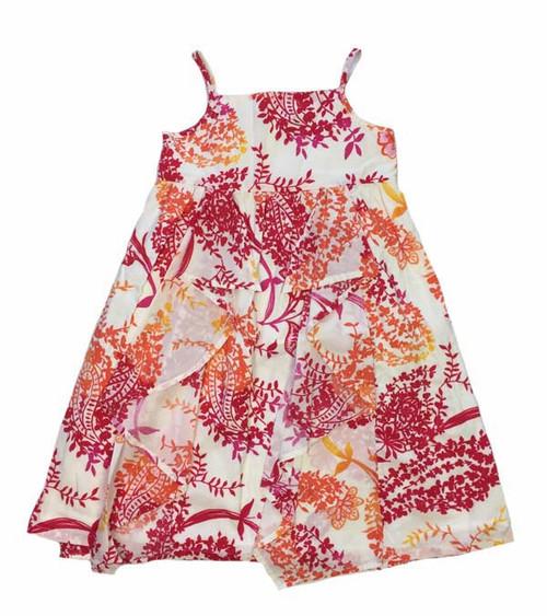 Floral Ruffle Dress, Toddler Girls