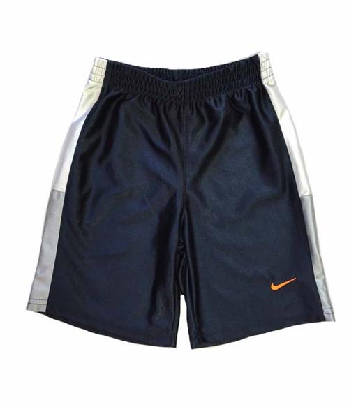 Navy Athletic Shorts, Little Boys