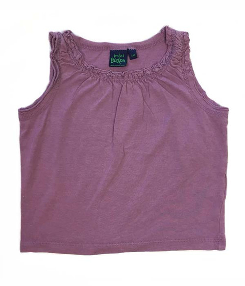 Purple Ruffle Tank Top, Toddler Girls