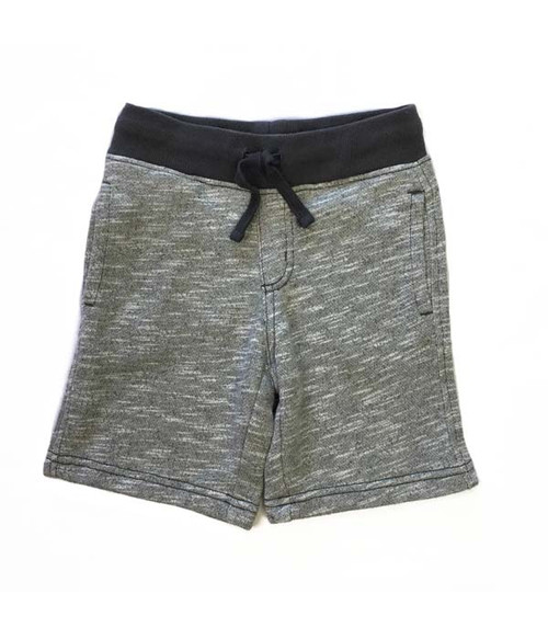 Gray French Terry Shorts, Toddler Boys