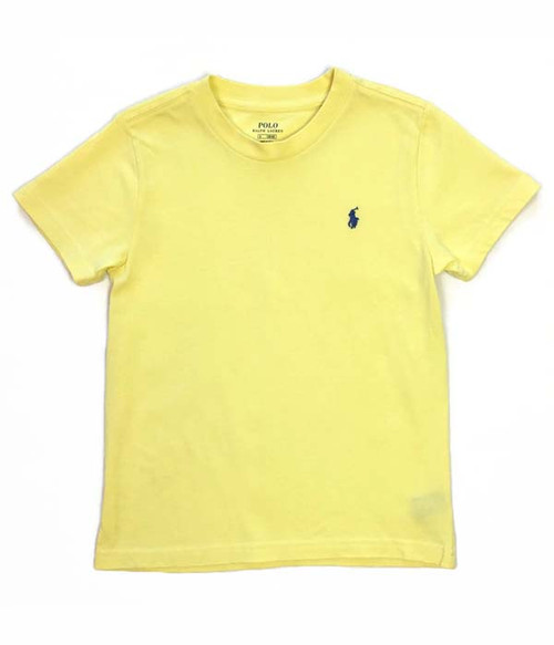 Light Yellow Tee, Little Boy