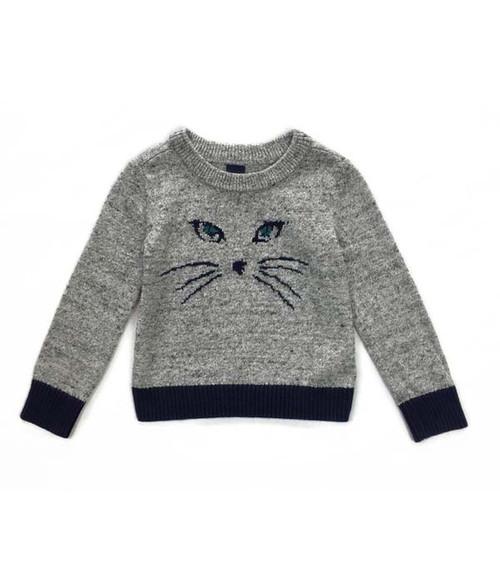 Gray Cat Sweater, Baby Boys