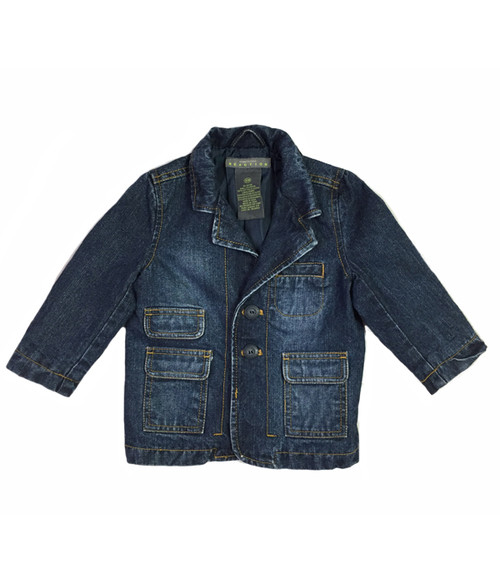 Denim Blazer Jacket, Baby Boys