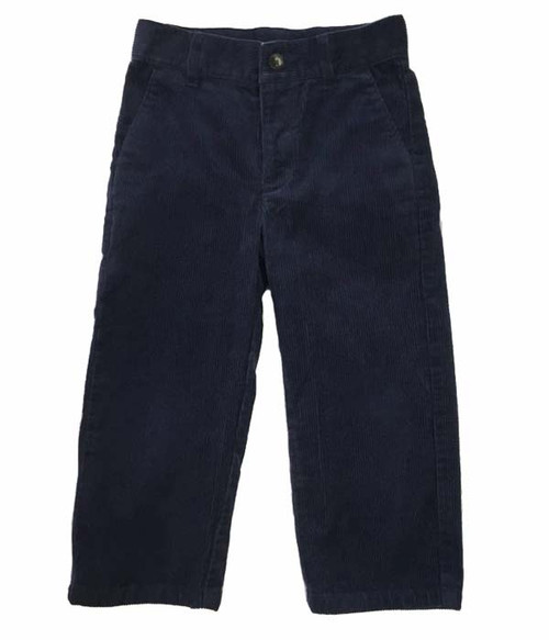 Navy Blue Corduroy, Toddler Boys