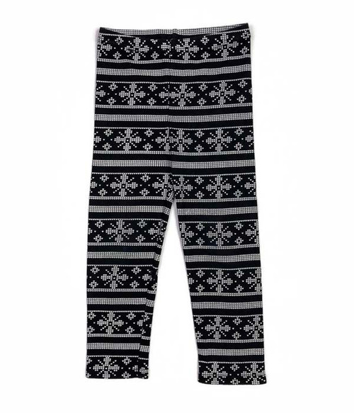 Snowflakes Leggings, Toddler Girls