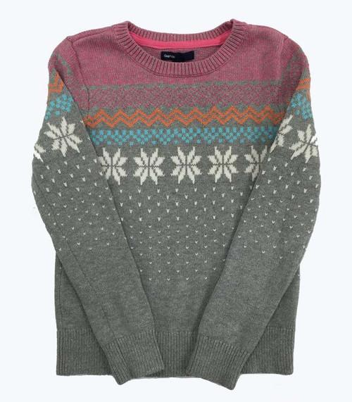 Snowflake Sweater, Little Girls