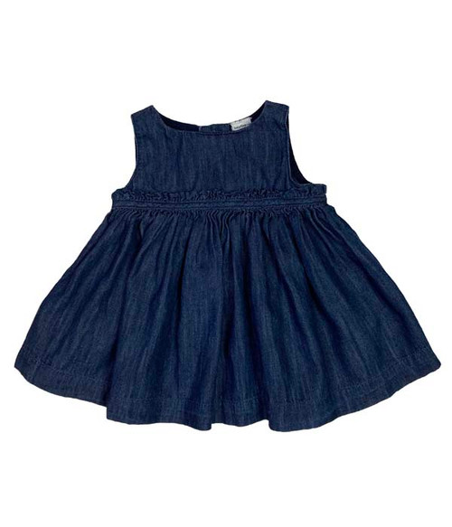 Denim Jumper Dress, Baby Girls