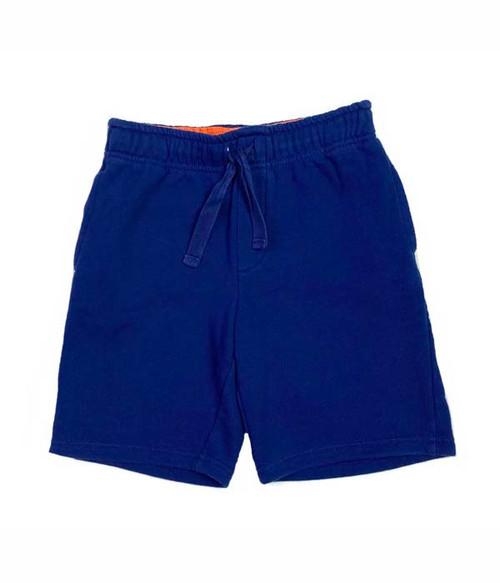 Navy Pull-On Shorts, Little Boys