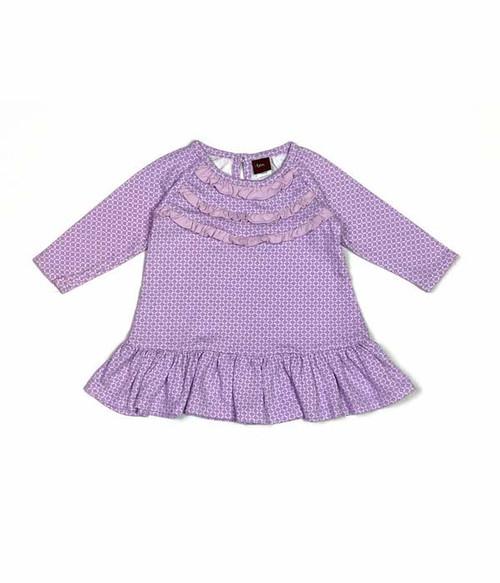 Lilac Ruffle Top, Baby Girls