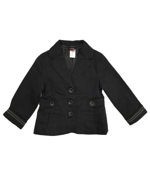 Black Button Blazer, Todder Girls