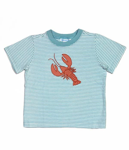 Lobster Embroidered Tee, Toddler Boys