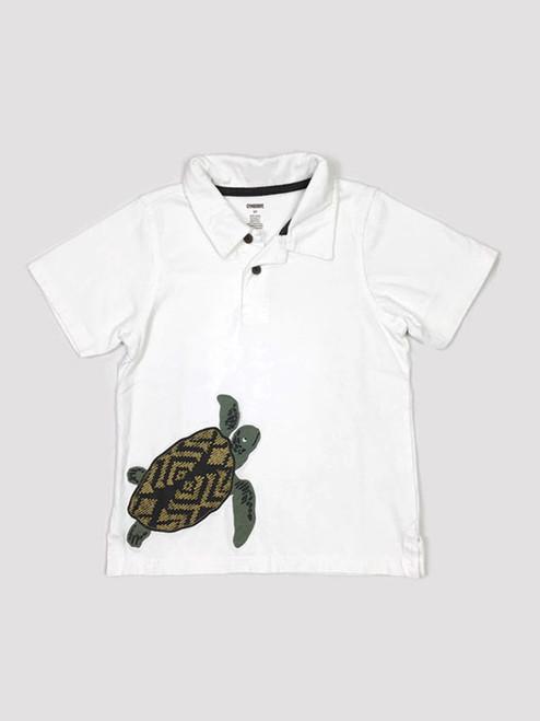 Polo Sea Turtle Shirt, Toddler Boys