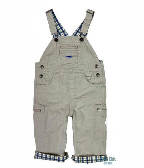 Tan Cargo Overalls, Baby Boys