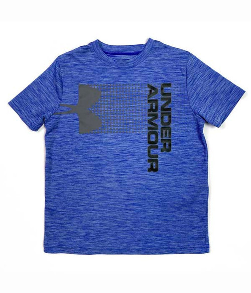 Blue & Graphite Heat Gear Tee, Little Boys