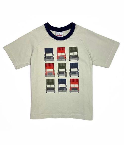 Semi Trucks Graphic Shirt,  Little Boys