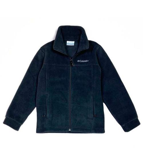 Black Fleece Jacket, Little Boys