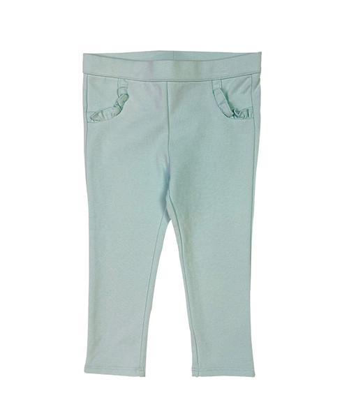 Mint Green Leggings, Baby Girls