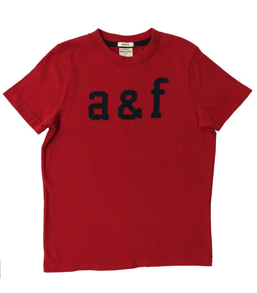 Red Short-Sleeve Tee, Little Boys