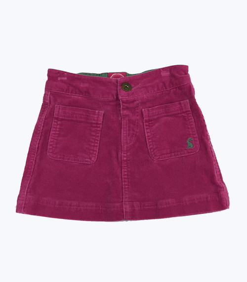 Pink Corduroy Skirt, Toddler Girls