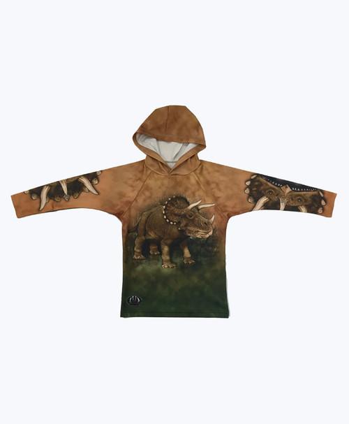SOLD - Triceratop Hoodie