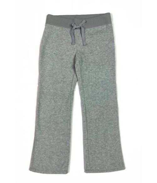 Gray Fleece Pants, Little Girls
