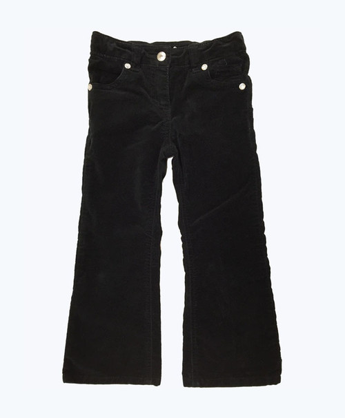 Black Velour Pants, Toddler Girls