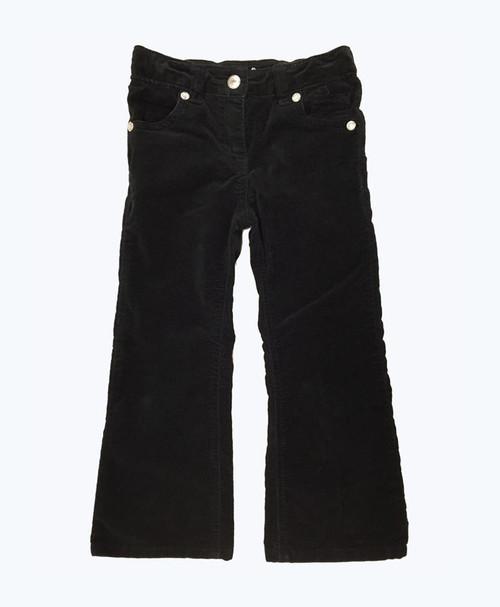 Black Velour Pants, Toddler Girls