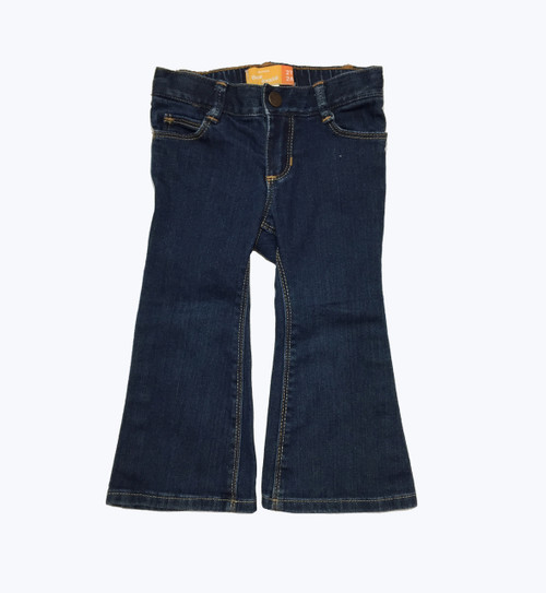 Flare Denim Jeans, Toddler Girls