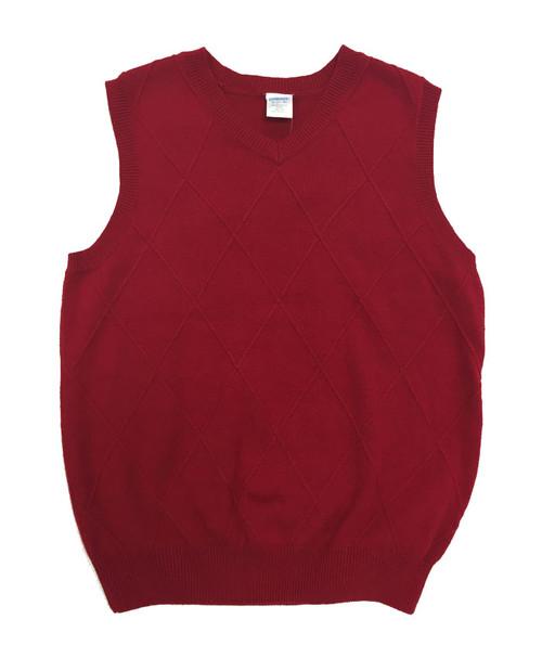 Red Sweater Vest, Little Boys