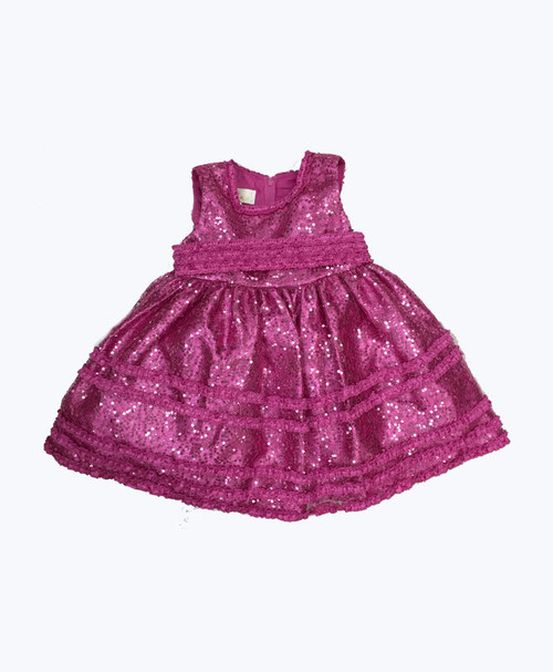 Pink Sequin Dress, Baby Girls