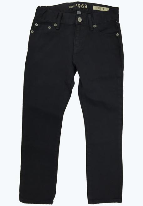Slim Black Jeans, Little Boys