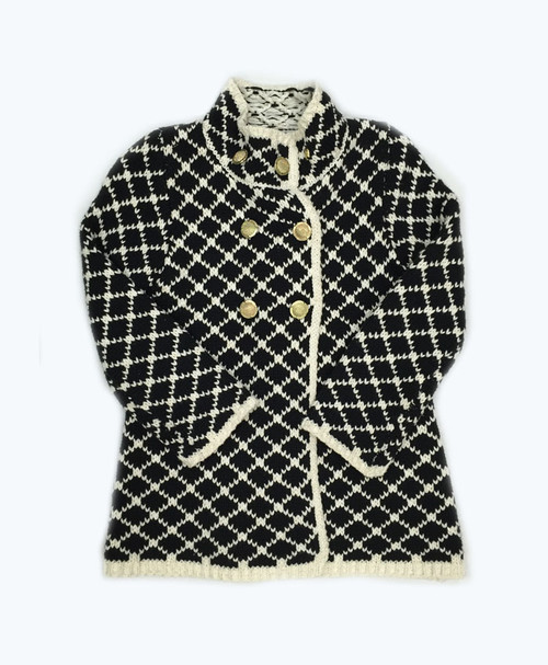 SOLD - Black & White Jacket