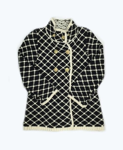 SOLD - Black & White Jacket