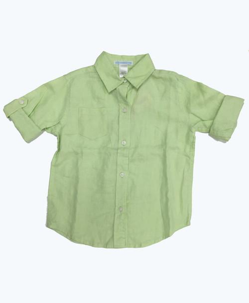 SOLD - Long Sleeve Linen Shirt
