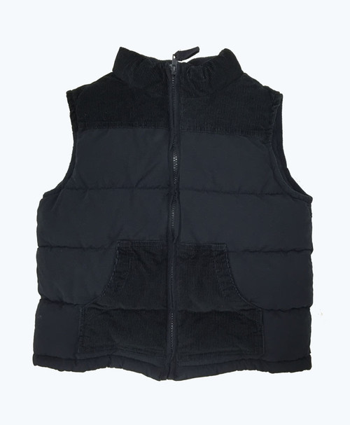 Black Puffer Vest, Little Boys