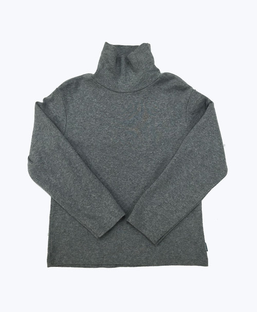 Gray Turtleneck Shirt, Toddler Boys