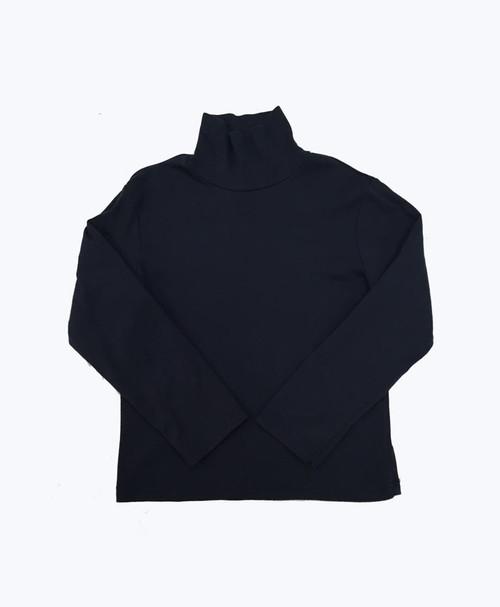 Navy Turtleneck Shirt, Little Boys